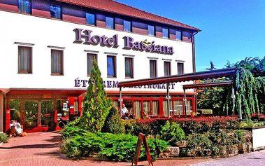Pobyt pro DVA s polopenzí a neomezeným wellness - Maďarské lázně Sarvár na 3 dny v Hotelu Bassiana****