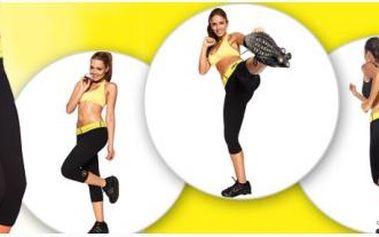 Speciální fitness legíny, se kterými je hubnutí až 4x rychlejší. Tříčtvrteční legíny vám výrazně ulehčí práci s hubnutím! Velikosti M - XXL.
