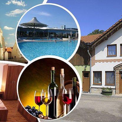 Vinařský pobyt ve Znojmě na 4 dny pro dva s polopenzí a ochutnávkami vín v penzionu Černý sklep.