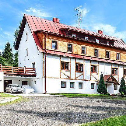 Až 6denní pobyt pro 2 s vířivkou i saunou v horském hotelu Eden v Krkonoších