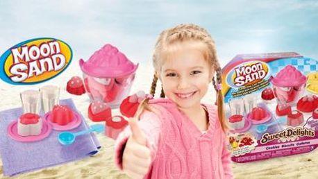 Kreativní MODELOVACÍ barevný PÍSEK MOON SAND pro dívky i chlapce! Vhodné pro děti od 4 let.