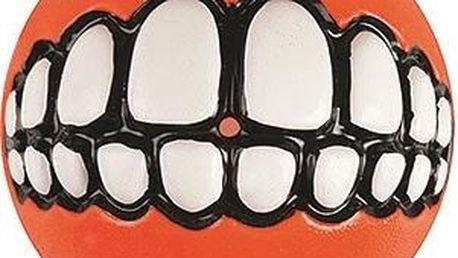 ROGZ GRINZ míček se zuby oranžový 6,5 cm