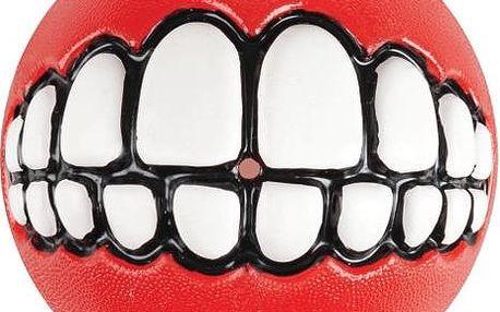 ROGZ GRINZ míček se zuby červený 6,5 cm