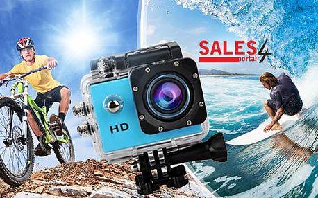 Outdoorová vodotěsná kamera 720p do hloubky 30m + poštovné v ceně. Podpora češtiny, video, senzor pohybu.