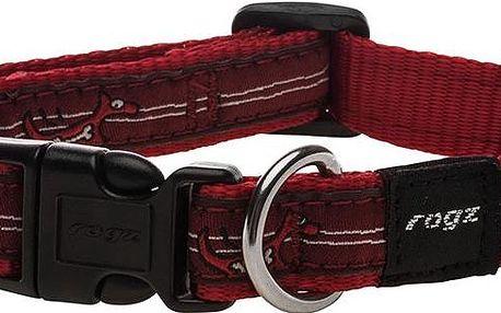 ROGZ FANCY DRESS obojek M Scooter Red Heart