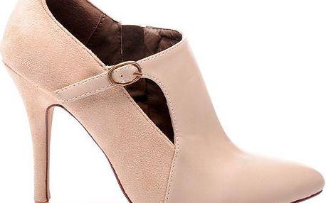 MA EVA Kotníkové boty na podpatku L-866BE /S2-36P 41
