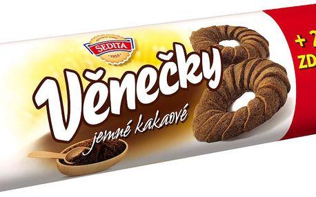 Sedita Sedita Věnečky kakaové 100 g + 20 % zdarma