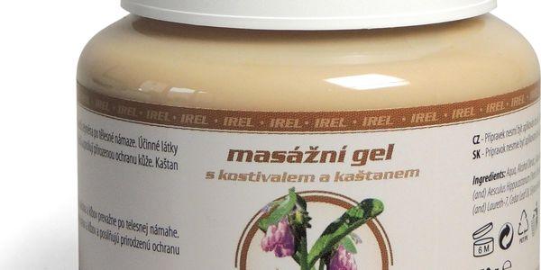 IREL masážní gel s kostivalem a kaštanem 500 gIREL masážní gel s kostivalem a kaštanem 250 g