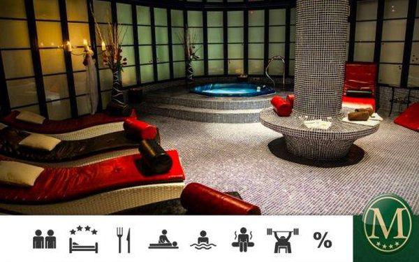 Hotel Morris*** Česká Lípa – 3denní wellness pobyt pro dva
