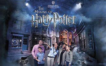 3denní zájezd pro 1 do Londýna za Harry Potterem s prohlídkou ateliérů i města