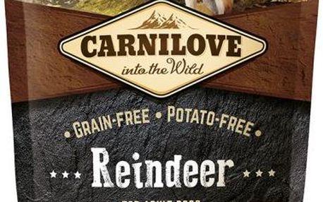 Holistické vysoce kvalitní krmivo pro dospělé psy Carnilove Reindeer for Adult 1,5kg