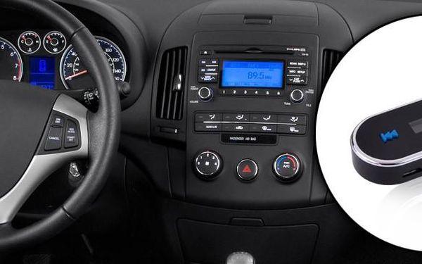 FM Transmitter - bezdrátový FM vysílač