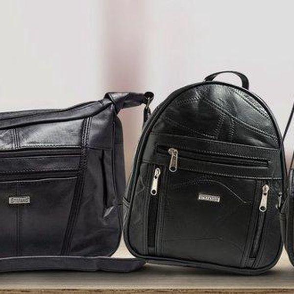 Dámské kožené kabelky a tašky Stefano