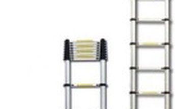 G21 Teleskopický žebřík hliníkový GA-TZ13-3,8M