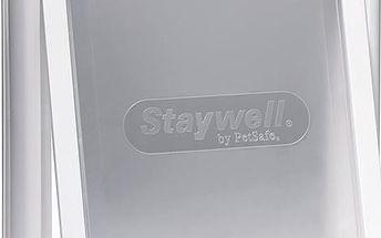 Staywell dvířka bílá s transparentním flapem 740