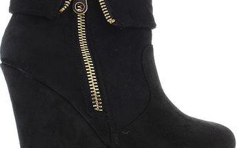 BLESS Semišové kotníkové boty 9526B 36
