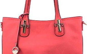 Velká červená kabelka 6830-29R Velikost: UNI