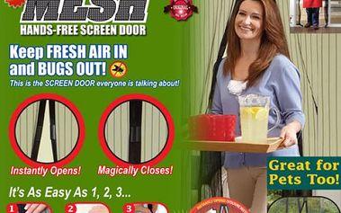Síť proti hmyzu - nepusťte domů ani jednoho komára!