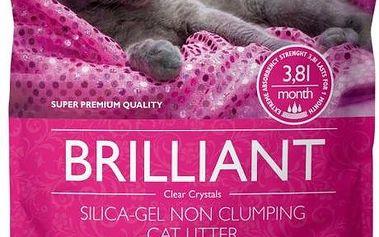 Brit Care stelivo Brilliant Silica gel 7,6 l