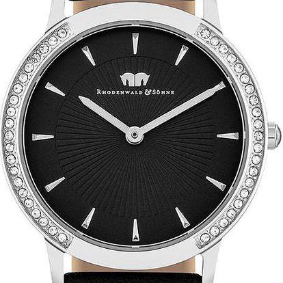 Dámské hodinky Rhodenwald&Söhne Olandia Black - doprava zdarma!