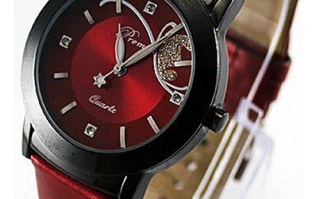 Dámské hodinky se zajímavým motivem motýla