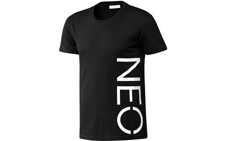 ADIDAS Neo Logo black-white vel. XL tričko