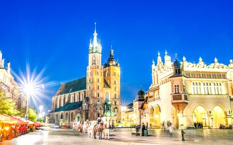 Romantika a luxus v Krakově až do června