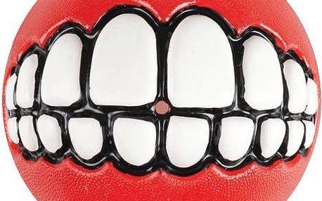ROGZ GRINZ míček se zuby červený 4,9 cm