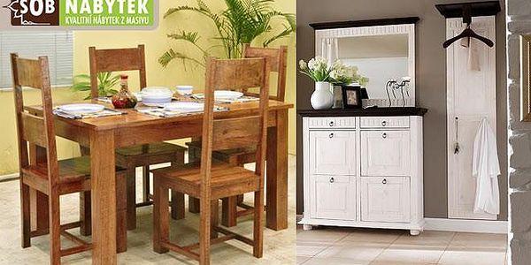 Kvalitní nábytek ze dřeva, který doladí vás domov!