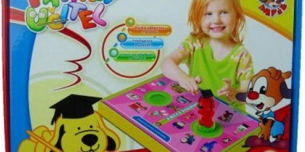 Vzdělávací hra Pafíkův učitel!