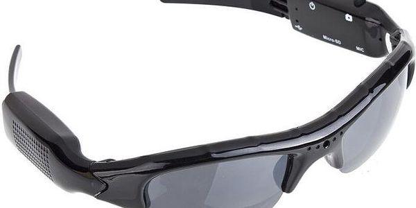 Sluneční brýle s kamerou a fotoaparátem