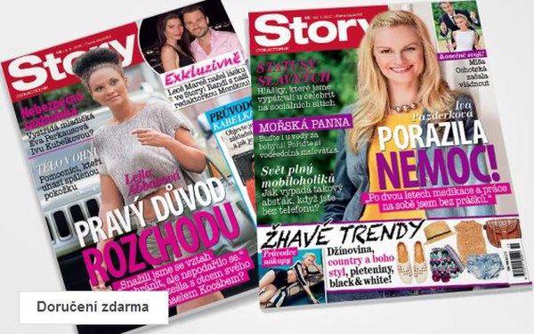 Předplatné časopisu Story