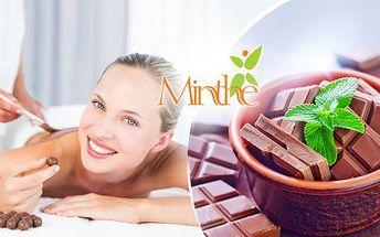 Čokoládová nebo anticelulitidní masáž + vyhlazovací masáž obličeje a jako bonus čaj zdarma.