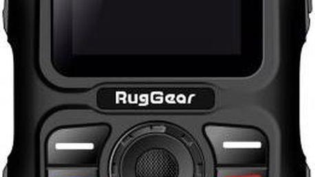 Odolný mobilní telefon RugGear RG-100, černošedý