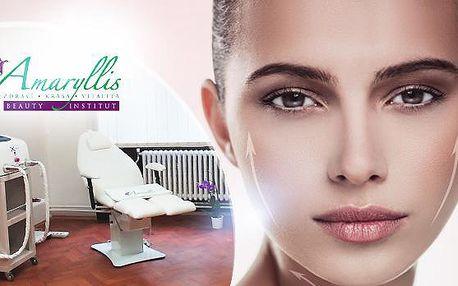 60minutový nechirurgický lifting obličeje - redukce podbradku a kontur tváře medicínským přístrojem.