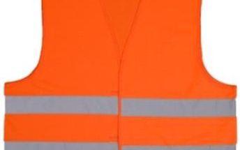 Reflexní vesta: žlutá a oranžová varianta