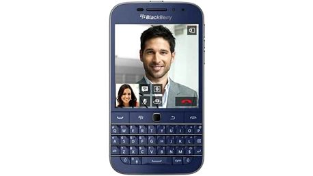 BlackBerry Classic modrý + Doprava zdarma
