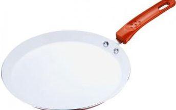 Pánev na palačinky keramická 24 cm oranžová RENBERG RB-1000oran