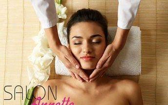 Indická antistresová masáž hlavy + kosmetická masáž