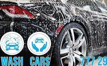 Kompletní ruční mytí automobilů vč.tepování