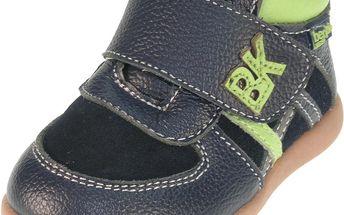 Chlapecké kotníčkové boty - tmavě modré