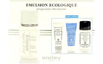 Sisley Ecological Compound Day And Night dárková sada W - 50ml Ecological Compound Day And Night + 30ml Eau Efficace Makeup Remover + 10ml Express Flower Gel Mask + 10ml Global Perfect Pore Minimizer Všechny typy pleti