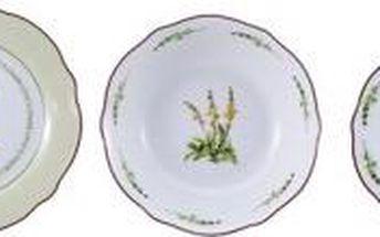 Jídelní sada talířů 18 ks BERGNER BF-8025