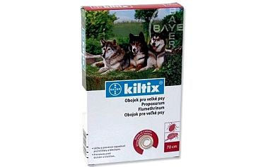 Bayer antiparazitní obojek Kiltix 70 cm