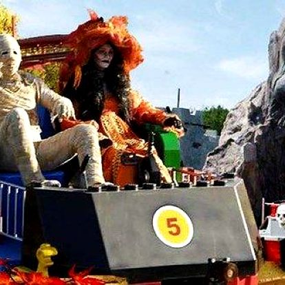 Halloweenský výlet do německého Legolandu