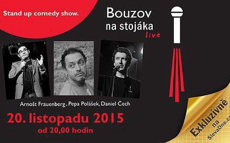Exkluzivní vystoupení Na Stojáka Live! v Hotelu Bouzov