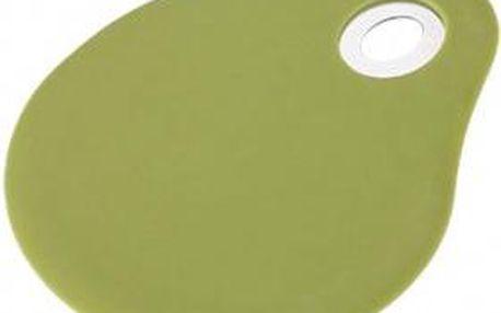 Stěrka silikonová 3 x 10 cm FLEXIKITCHEN, barva zelená BERGNER BG-3369zele