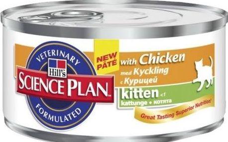 Hills Feline Kitten Chicken konzerva 156 g