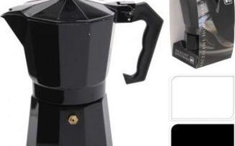 Konvice na espresso 6 šálku, černá ProGarden KO-170413510cern