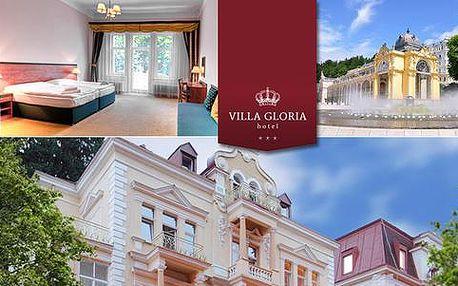 Podzimní pohoda v hotelu Villa Gloria*** pro dva + dítě do 12 let zdarma
